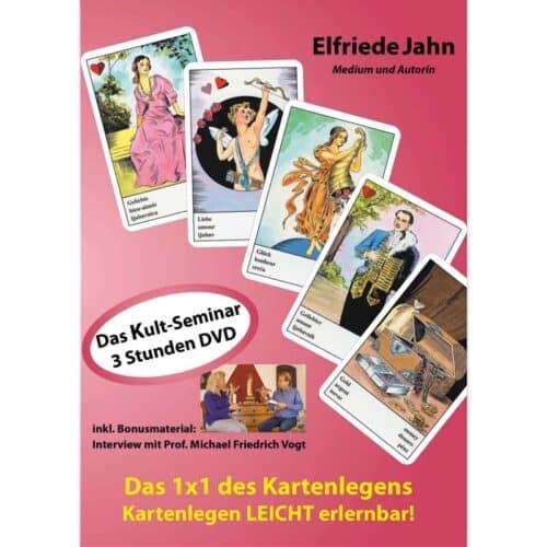 Kartenlegen leicht erlernbar - Das Kult Seminar auf DVD jetzt NEU! Endlich können Sie mit Hilfe dieser DVD das Kartenlegen anhand der Zigeunerkarten selbst erlernen.