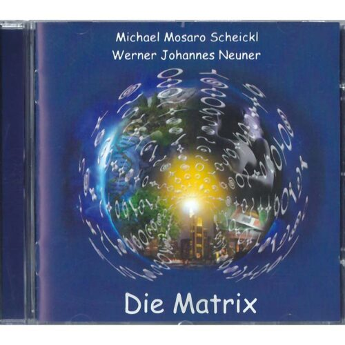 Die Matrix CD - die CD zum Buch von Werner Neuner Die Matrix erschafft die Realität unseres Lebens. Michael Mosaro Scheickl hat 20 Musikstücke komponiert, die das Feld der Matrix klären, beleben und den Hörer inspirieren. Jenes Matrixfeld, das unsere realen Wirklichkeiten erschafft und das die persönlichen Lebensumstände formt, ist verfremdet und mit Paradigmen durchdrungen, die unserem eigentlichen Evolutionsplan widersprechen. Dennoch existiert in jedem von uns ein immanenter, heiler innerer Kern, der den tatsächlichen lebendigen Entwicklungsplan kennt.