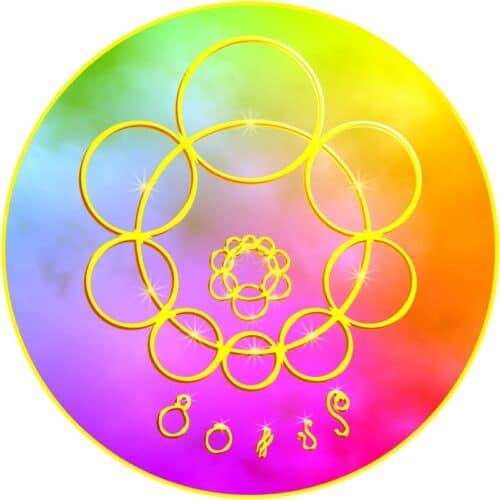 Legt ein Mensch dieses Mandala auf sich auf oder meditiert er damit, so findet er zu einer Ruhe in sich selbst. Zu starke Identifikation mit Gegebenheiten im Außen lösen sich auf. Durch wiederholte Anwendung dieser Mandalakraft begreifen wir uns als Individuum, das mit der Gesamtheit des Universums verwoben ist.