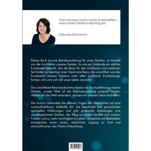 Die Autorin behandelt die offenen Fragen der Menschheit auf eine nachvollziehbare, bildhafte Art. Sie beschreibt ihre persönlichen spirituellen Erfahrungen und gibt praktische Anleitungen zum wundergesinnten Denken, der Weg aus jedem Konflikt zum inneren Frieden und zu mehr Leichtigkeit im Leben.