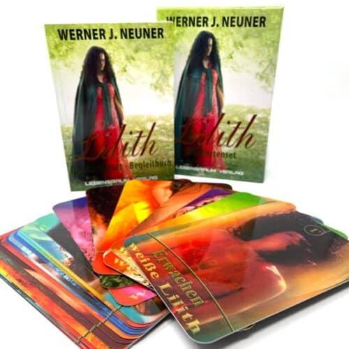 61 Karten, Größe ca. 8 mal 13 cm, mit Booklet (76 Seiten, Beschreibung der einzelnen Karten, Verwendung als Orakel und Beschreibung des Lilith-Einweihungsweges), in sehr schöner Verpackung.